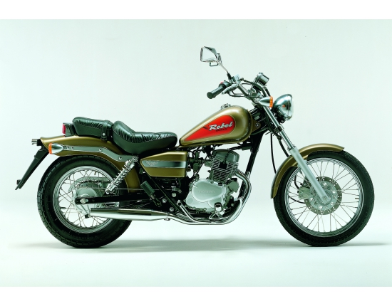 Photo honda rebel 125 4