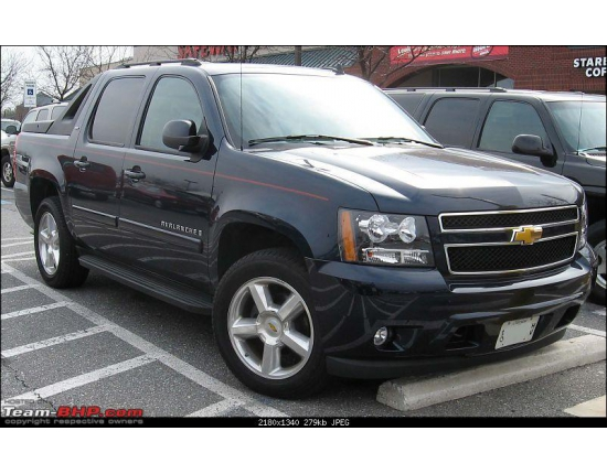 Chevrolet avalanche фото