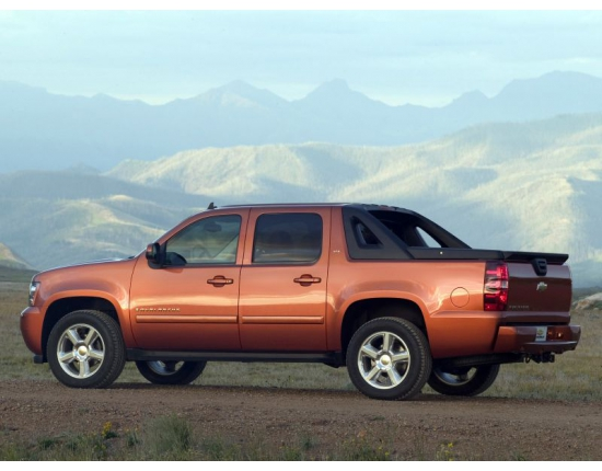 Chevrolet avalanche фото 4