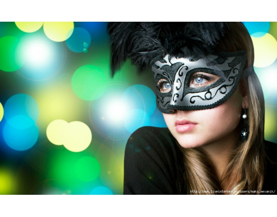 photo of girls with mask № 22514