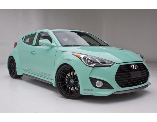 Photo hyundai veloster noir